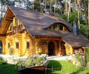 cozy, log cabin, and home image