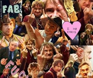 Martin Freeman, hobbit, and bilbo baggins image