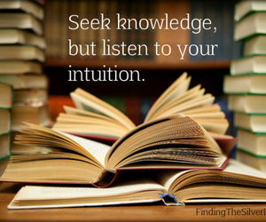 intuition, knowledge, and reading image