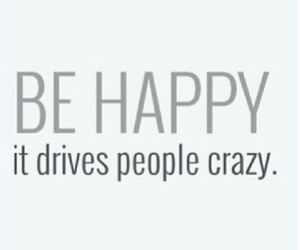 happy, crazy, and people image
