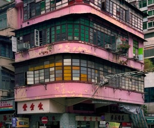 pink, building, and japan image