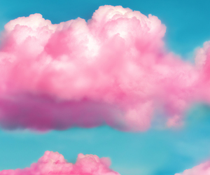 clouds, cotton candy, and romantic image