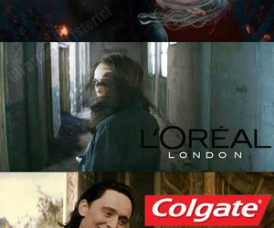 commercial, funny, and loki image
