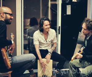 brandon boyd, incubus, and mike einziger image