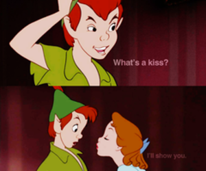 kiss and peter pan image