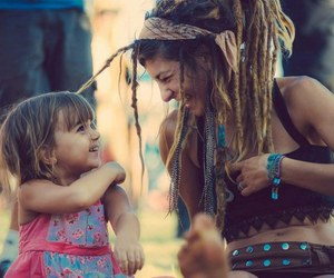 dreads, child, and smile image