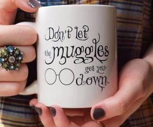 harry potter, muggles, and cup image