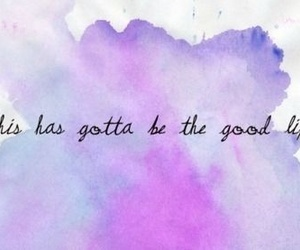 purple, text, and good life image
