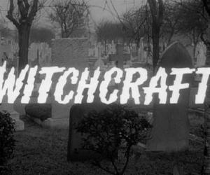witchcraft, witch, and dark image