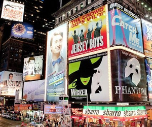 broadway, musicals, and performance image