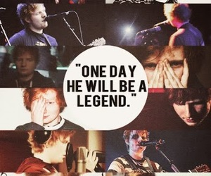 ed sheeran, legend, and ed image