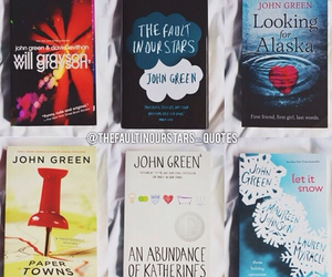 book, tfios, and author image