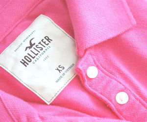hollister and pink image
