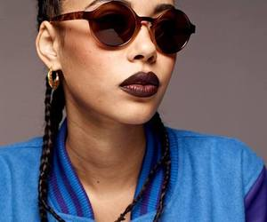 black woman, face, and fashion image