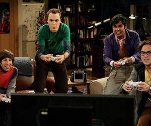 the big bang theory, game, and sheldon image