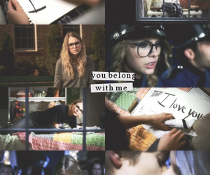 Taylor Swift and you belong with me image
