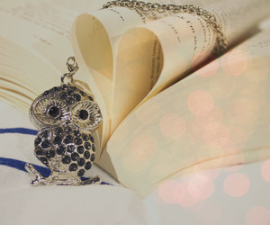 bokeh, book, and jewelry image
