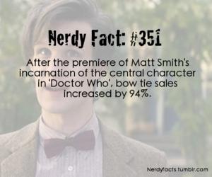 doctor who, fact, and matt smith image