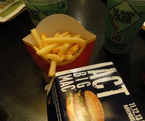 Mc, food, and McDonalds image