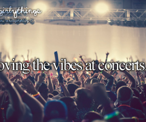 concert, vibes, and love image