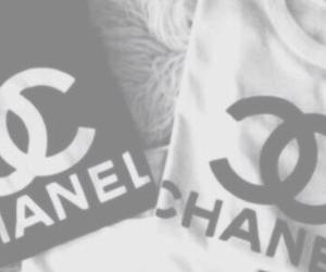 black and white, chanel, and grunge image