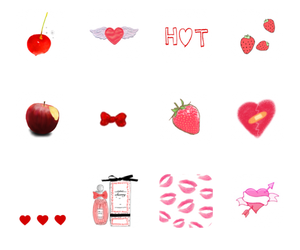 cherry, food, and FRUiTS image