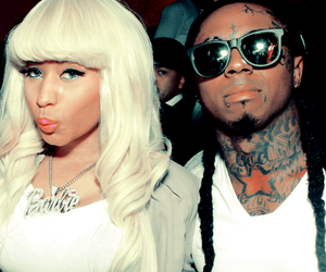 lil wayne, nicki minaj, and tattoo image