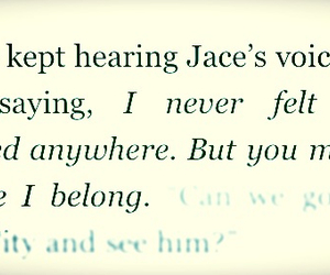 jace, quote, and clary image