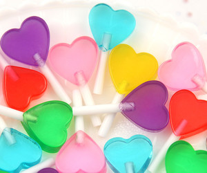 heart, colors, and pink image