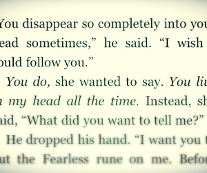 jace, thoughts, and clary image