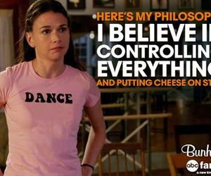 sutton foster, bunheads, and putting cheese on stuff image