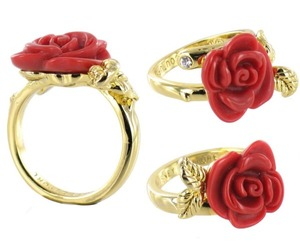 jewelry, rose, and ring image