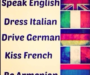 armenian, english, and french image