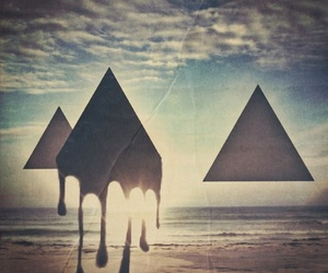 triangle, hipster, and beach image
