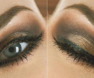eye, eyeshadow, and make up image