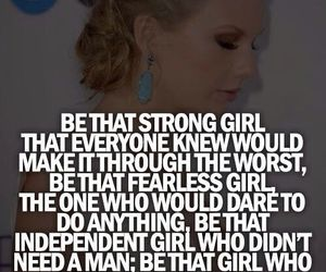 quotes, girl, and Taylor Swift image