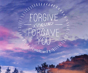 forgive, love, and god image