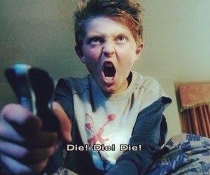 die, boy, and movie image