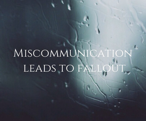 communication, Relationship, and fallout image