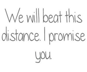 love, distance, and promise image