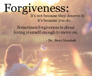 forgive, happiness, and inspirational image