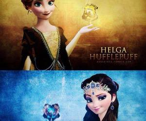 harry potter, frozen, and ravenclaw image