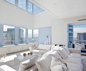 interior design, modern bedroom, and interior painting image