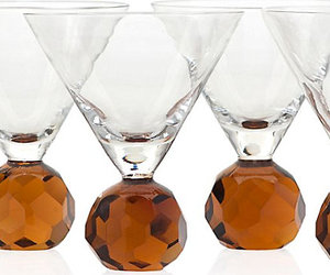 wine cooler table jewelry, exemplary glasses, and decorated glass image