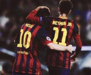 messi, Barcelona, and neymar image