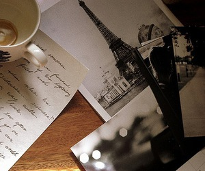 paris, coffee, and photo image