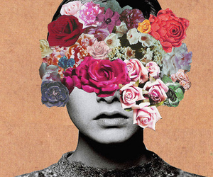 blossom, Collage, and twiggy image