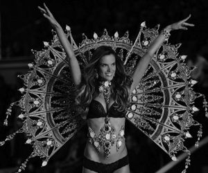 model, Victoria's Secret, and alessandra ambrosio image