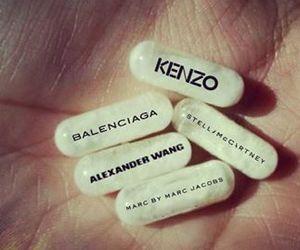 Balenciaga, fashion, and Kenzo image