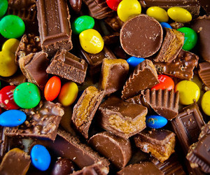 candy, chocolate, and food image